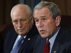 Dream:  George W. Bush and Dick Cheney