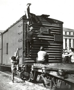 The First Time I Rode a Freight Train