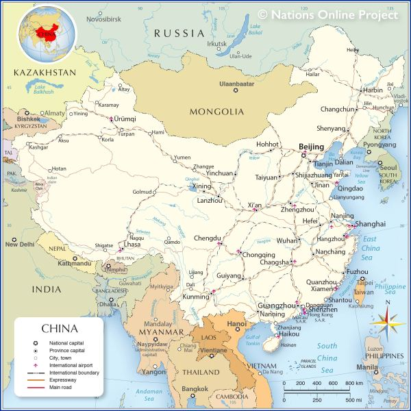 China-Political-Map
