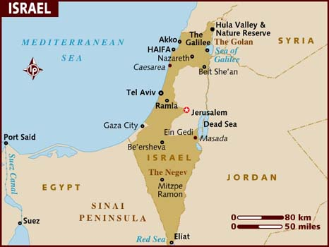 map_of_israel