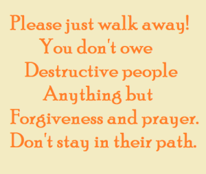 please-just-walk-away