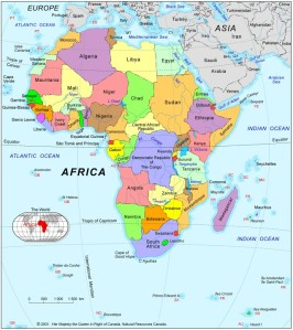 Africa-Political-Map-2001