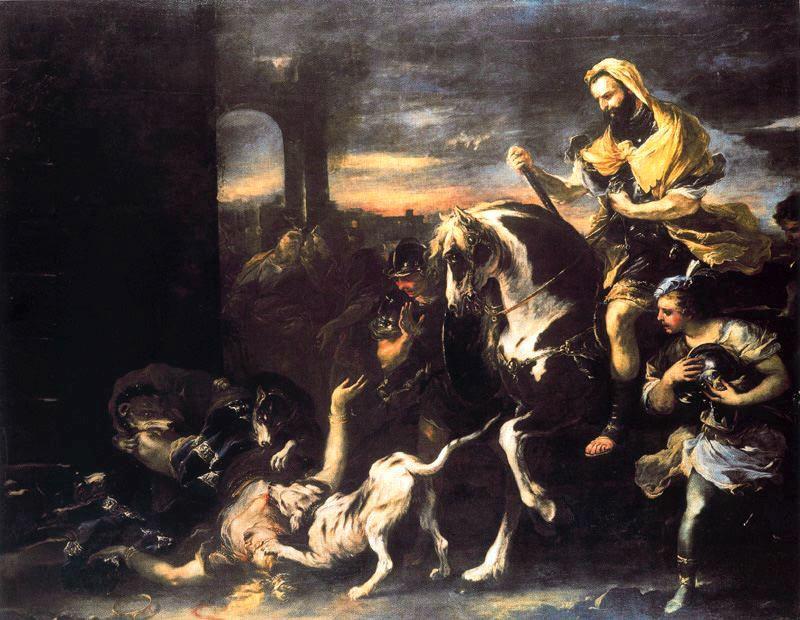 Luca-Giordano-Jezebel-eaten-by-dogs